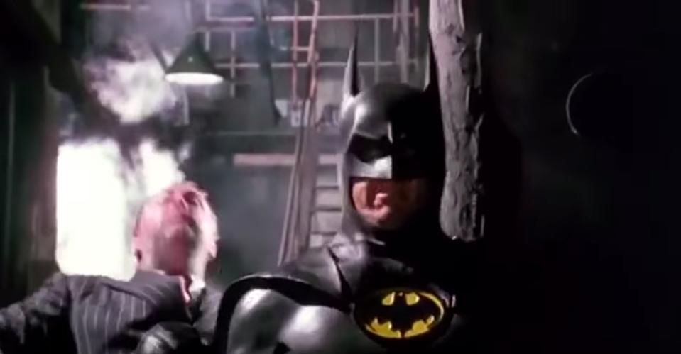 Michael Keaton em Batman (1989)