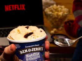 Sorvete Netflix