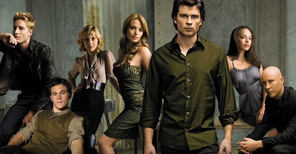Elenco de Smallville (Foto: Divulgação)