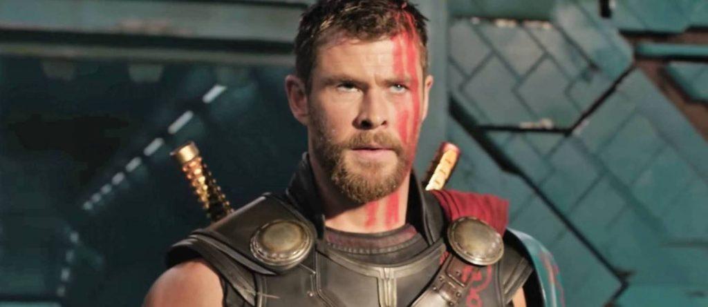 Chris Hemsworth em Thor Ragnarok