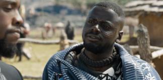 Daniel Kaluuya em Pantera Negra (Reprodução)