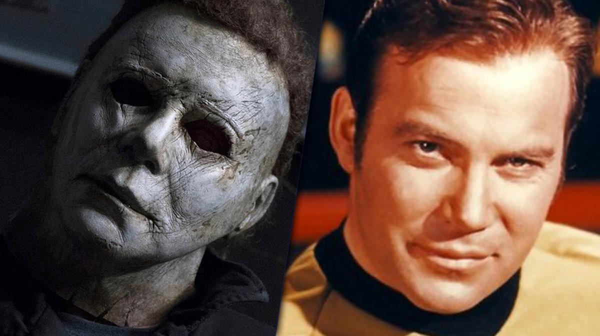 Michael Myers e William Shatner (Divulgação)