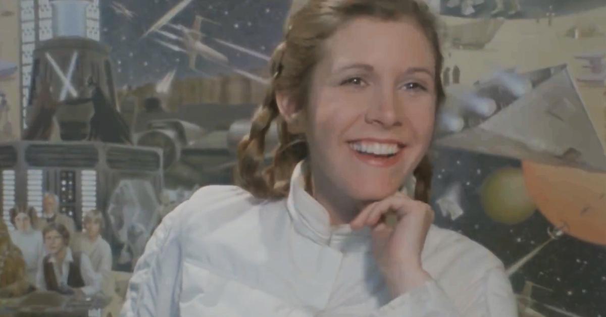Carrie Fisher em Star Wars (Reprodução)