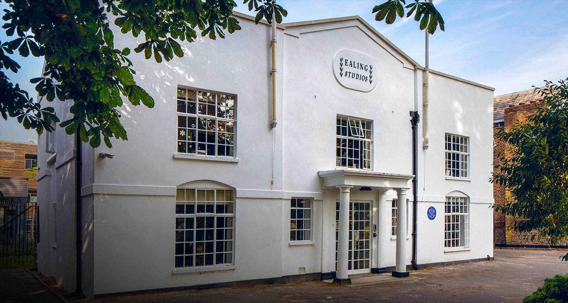Porta do Ealing Studios em Londres