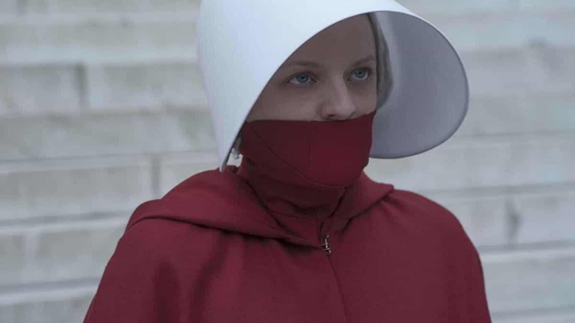 Elisabeth Moss em The Handmaid's Tale
