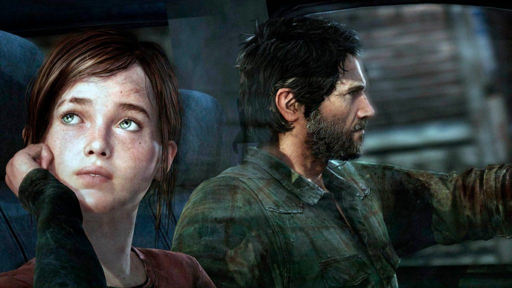 Ellie e Joel no jogo The Last Of Us