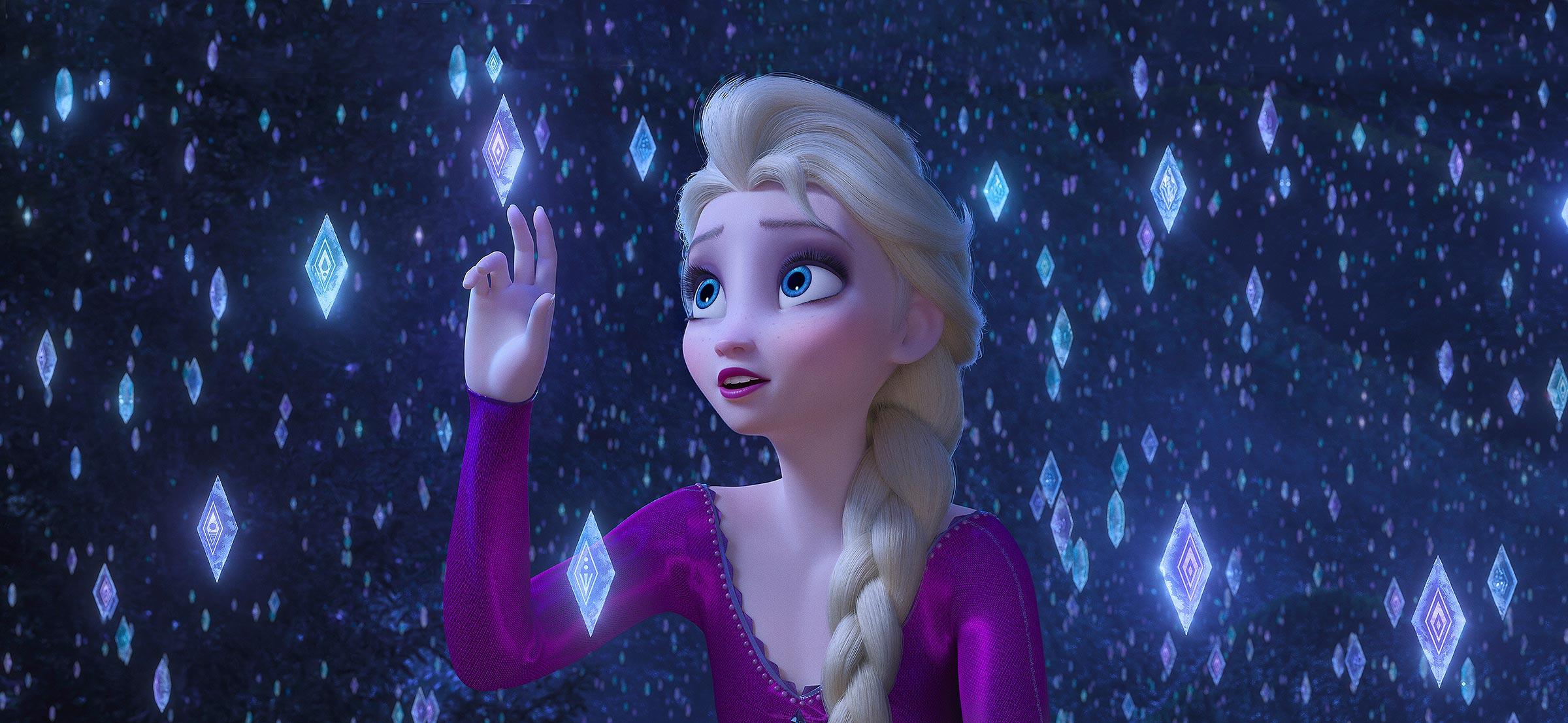 Elsa em Frozen 2