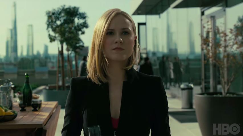 Evan Rachel Wood, a Dolores de Westworld