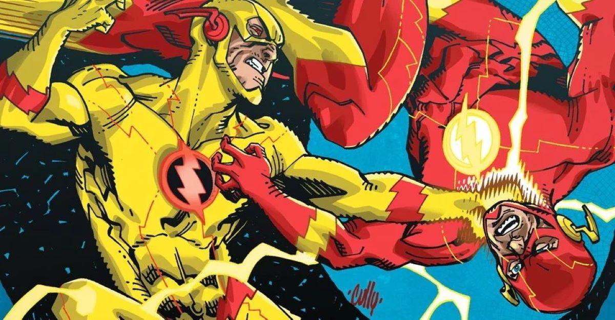 Flash Reverso e Flah (Divulgação / DC Comics)