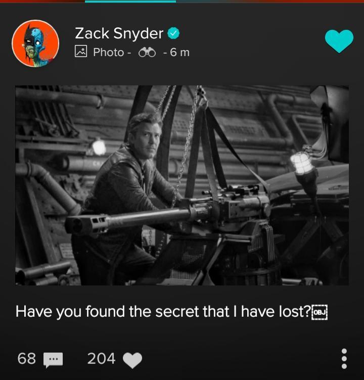 Compartilhamento de Zack Snyder, onde Bruce Wayne de Ben Affleck mostra suas armas