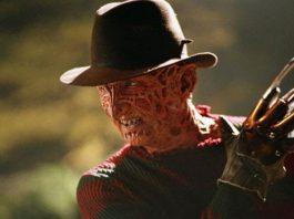 Freddy Krueger (Robert Englund) em A hora do Pesadelo