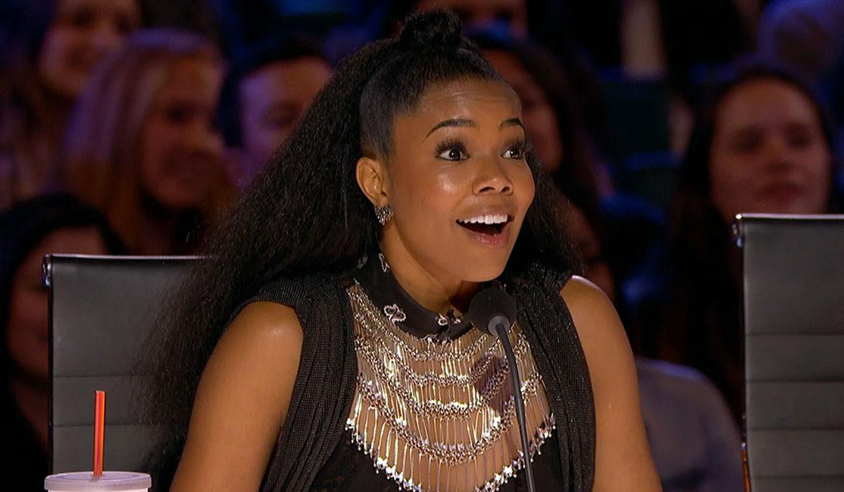Gabrielle Union no Americas Got Talent
