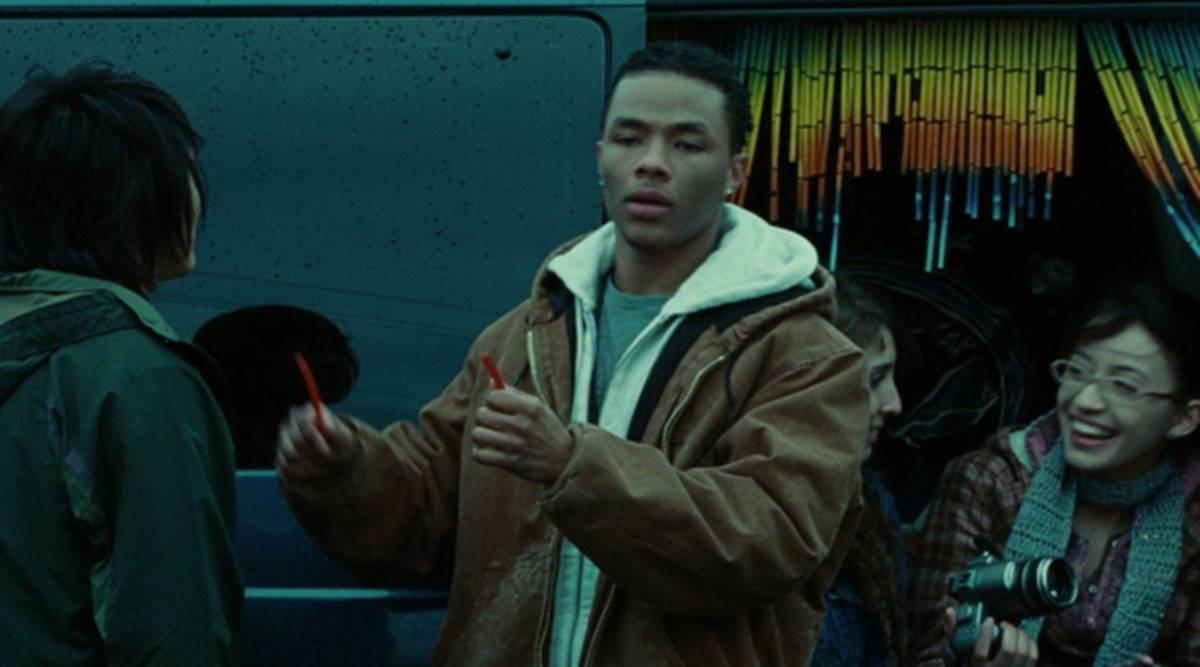 Gregory Tyree Boyce em cena de Crepúsculo