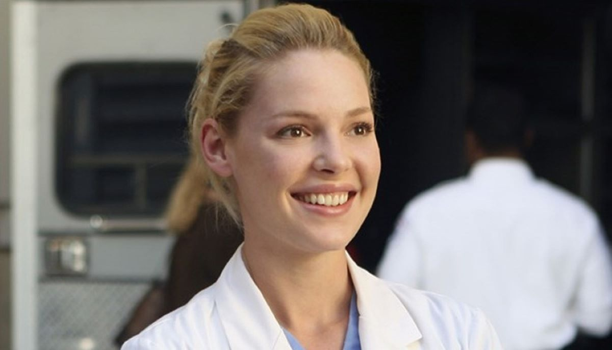 Katherine Heigl como Izzie Stevens em Grey's Anatomy (Foto: Reprodução)
