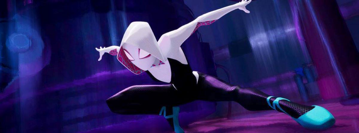 Spider-Gwen em Homem-Aranha no Aranhaverso (Divulgação)