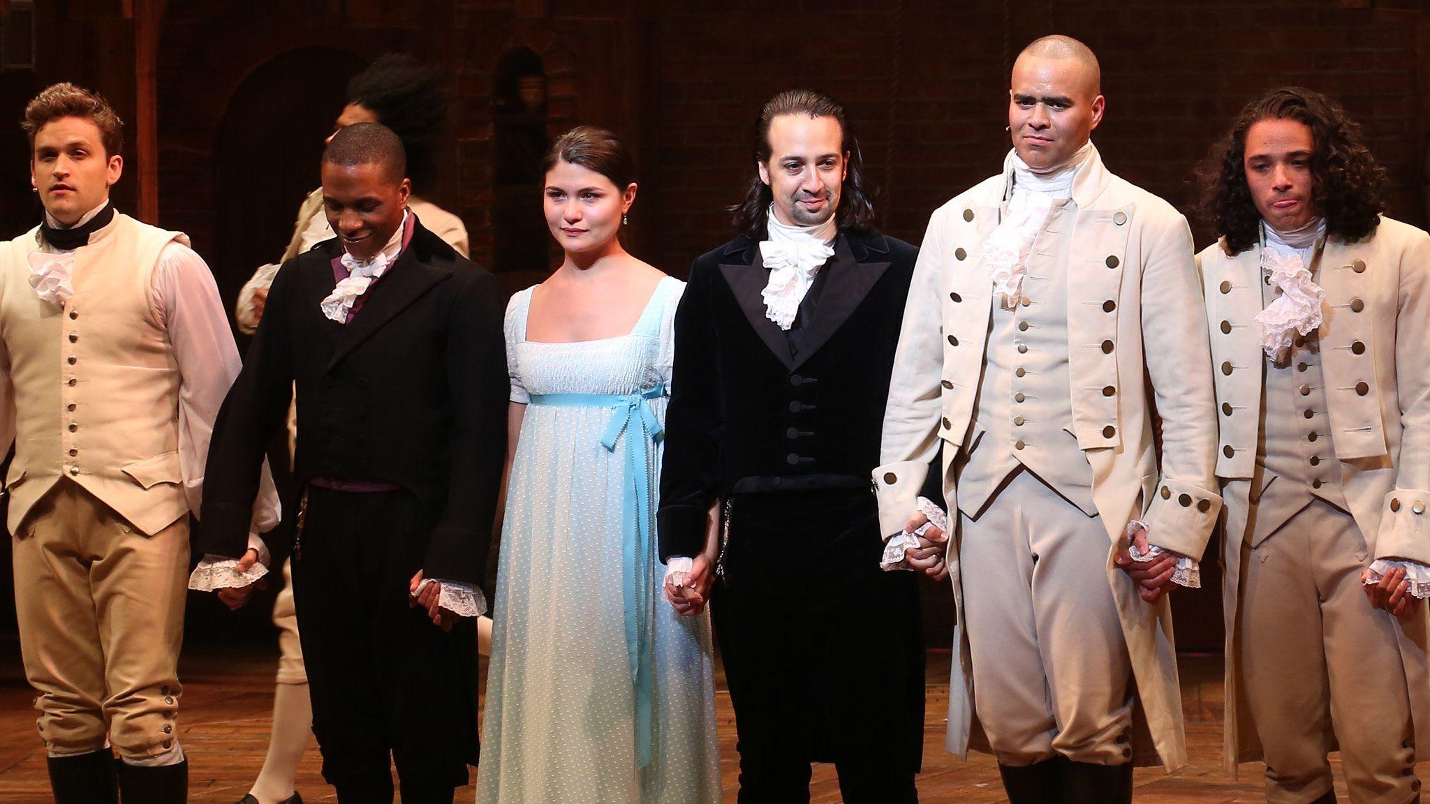 Hamilton, musical de Lin-Manuel Miranda