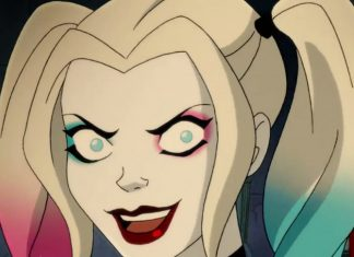 Arlequina na série animada Harley Quinn
