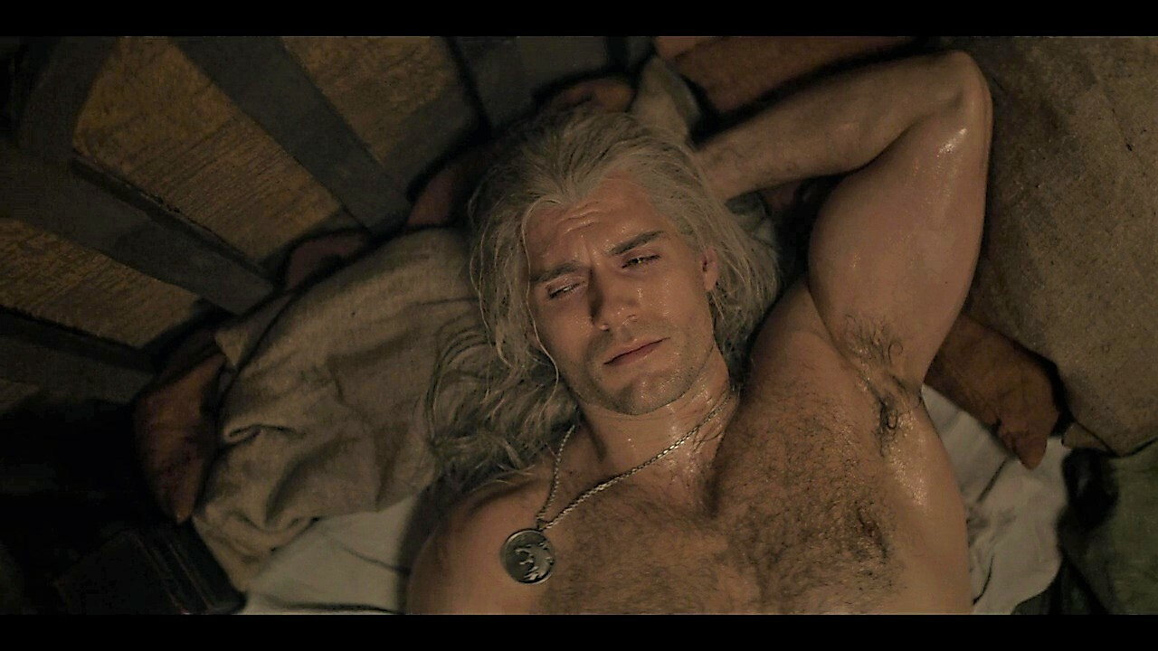 Henry Cavill como Geralt em The Witcher