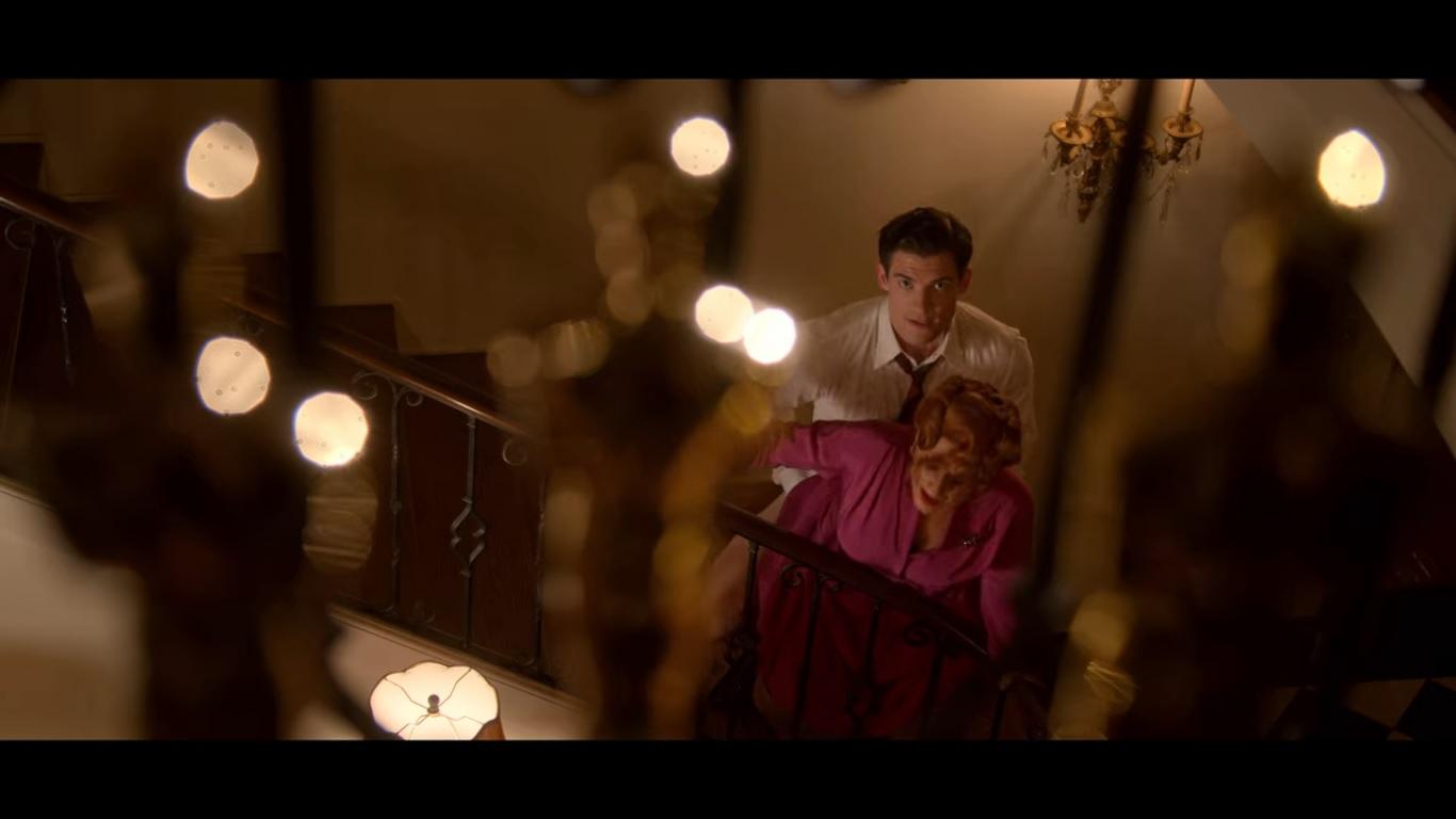Jack (David Corenswet) e Avis (Patti LuPone)Jack (David Corenswet) e Avis (Patti LuPone)