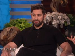 John Krasinski no The Ellen Show