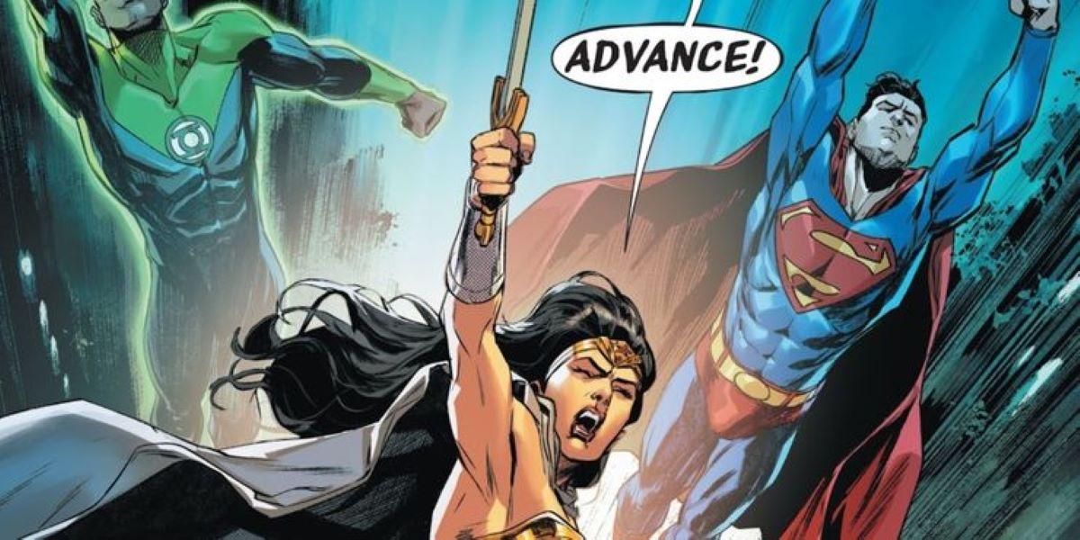 Liga da Justiça #46! (Divulgação / DC Comics)