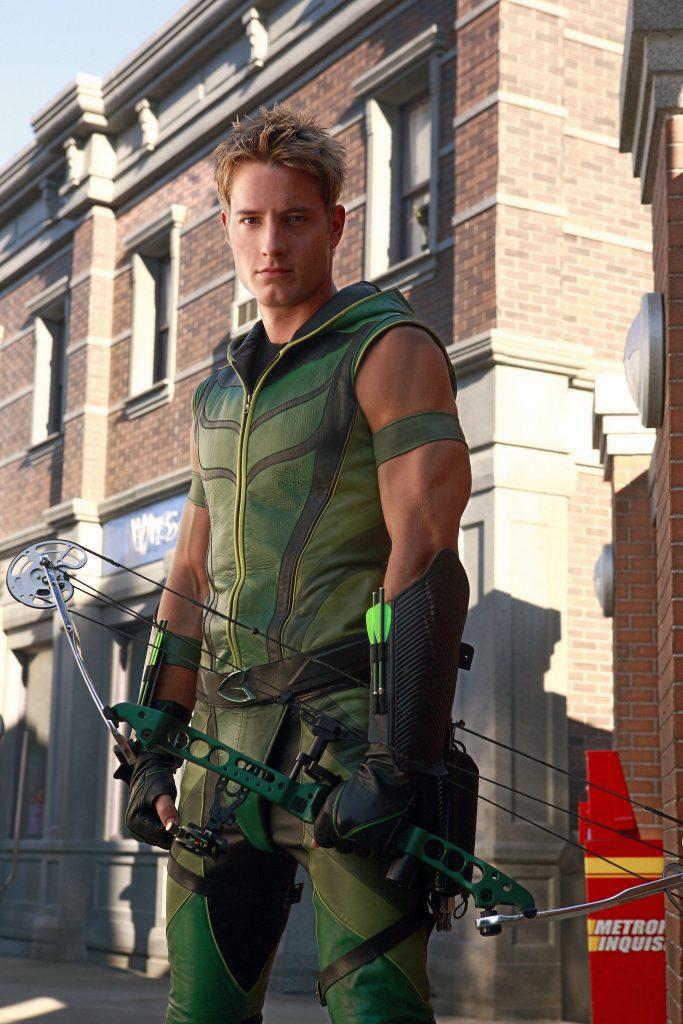 Justin Harltley como Arqueiro verde em Smallville