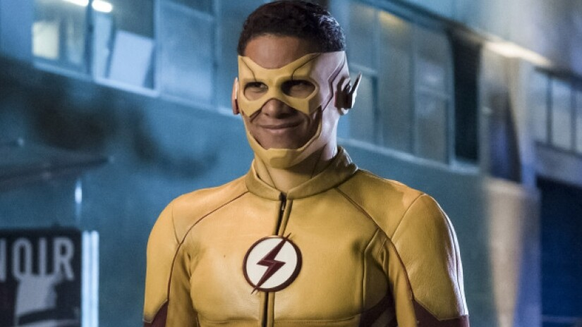 Keiynan Lonsdale como Kid Flash em The Flash