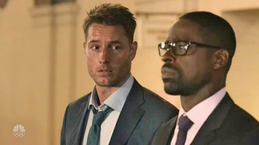 Kevin (Justin Hartley) e Randall (Brown) em This Is Us