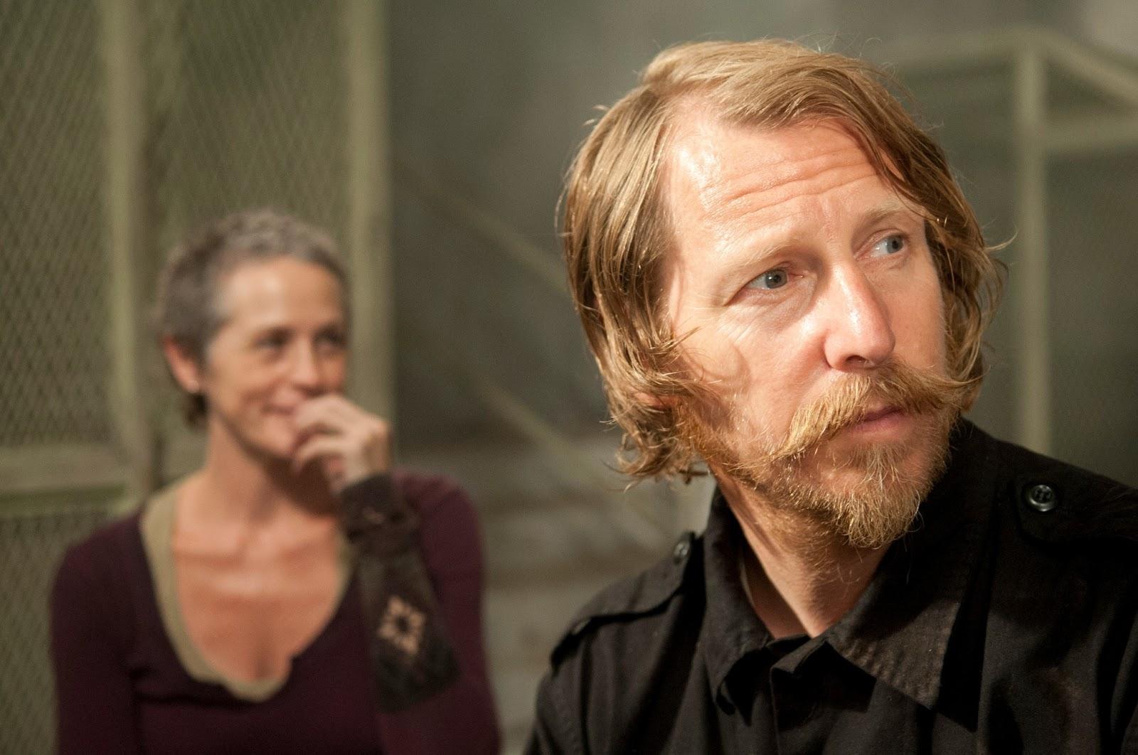 Lew Temple como Axel em The Walking Dead