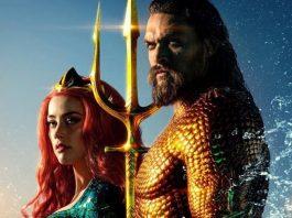 Mera (Amber Heard) e Aquaman (Jason Momoa) em Aquaman