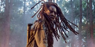 Michonne (Danai Gurira) em cena de The Walking Dead