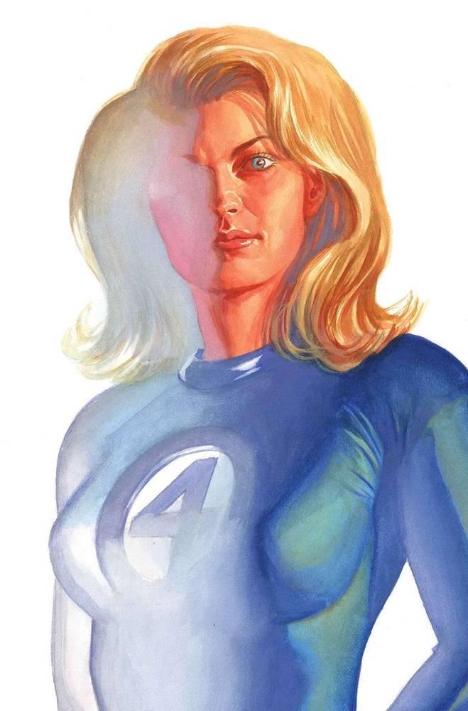 Mulher Invisivel (Divulgação / Marvel Comics)