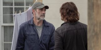 Negan (Jeffrey Dean MOrgan) e Daryl (Norman Reedus) em The Walking Dead