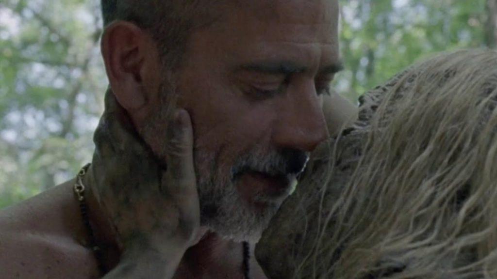 Negan e Alpha em The Walking Dead