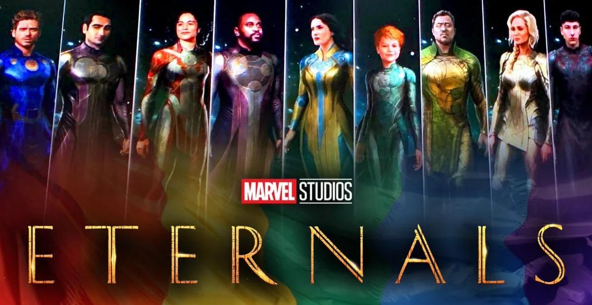 Os Eternos: Suposta nova logo do filme da Marvel é vazada; Confira ...