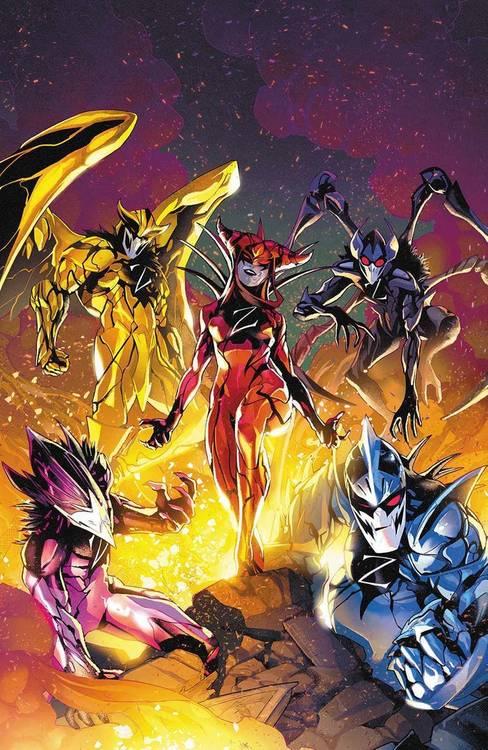 Mighty Morphin Power Rangers #53 (Divulgação / BOOM! Studios)