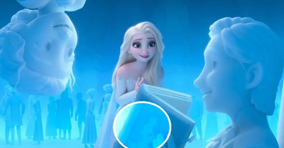 Pai de Elsa lendo A Pequena Sereia
