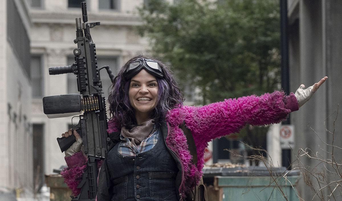 Princesa (Paola Lázaro) em The Walking Dead