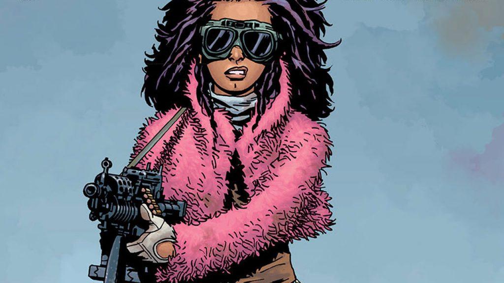 Princesa nos quadrinhos de The Walking Dead