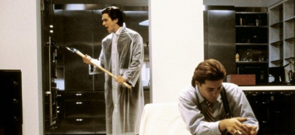 Christian Bale e Jared Leto em cena de Psicopata Americano (Foto: Reprodução)