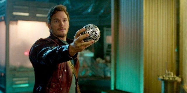 Quill (Chris Pratt) in Guardians of the Galaxy