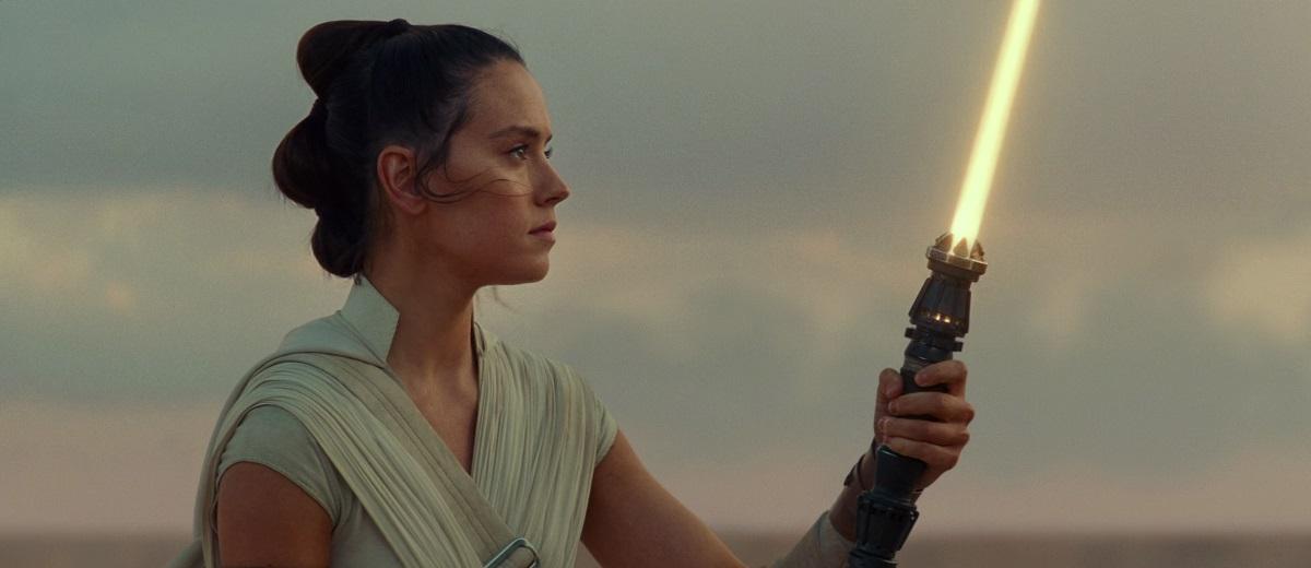 Rey (Daisy Ridley) em Star Wars: A Ascensão Skywalker (Reprodução / LucasFilm)