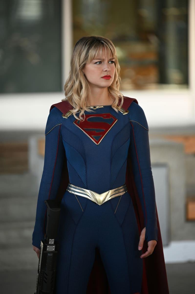 Melissa Benoist em Quinta temporada de Supergirl