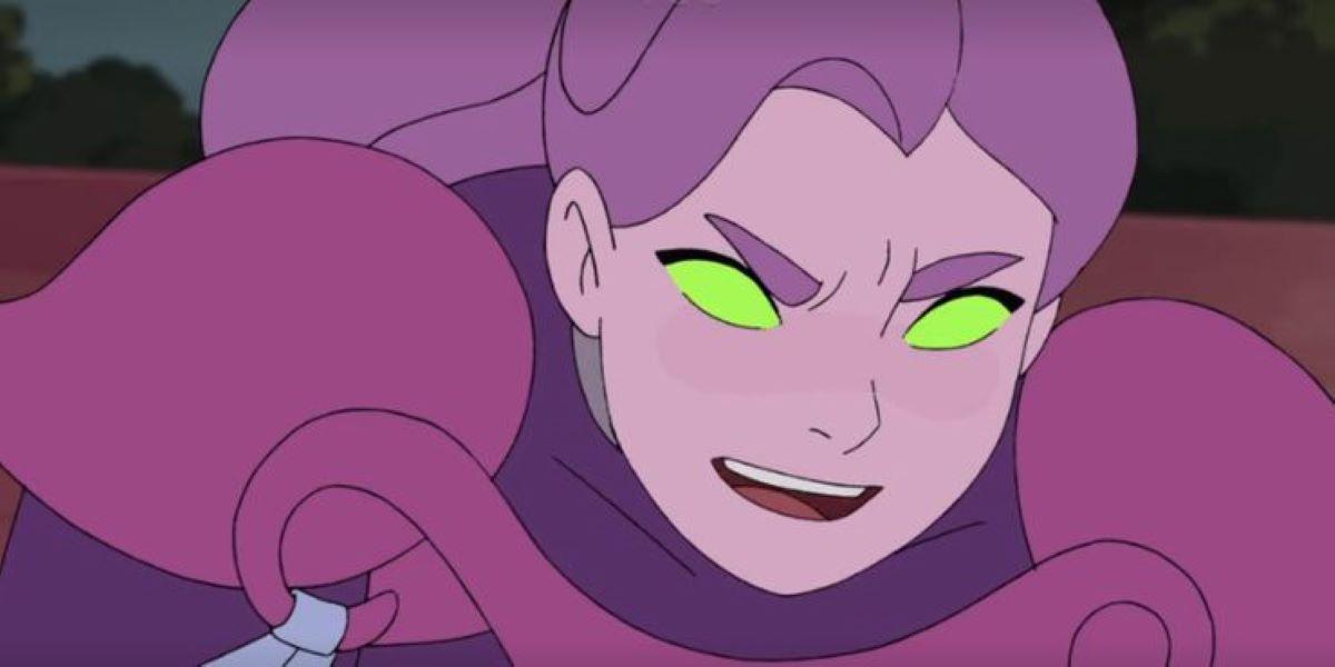 Spinnerella em She-Ra e as Princesas do Poder (Reprodução / Netflix)