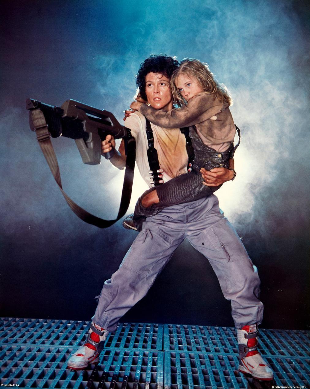 Sigourney Weaver em Alien 2