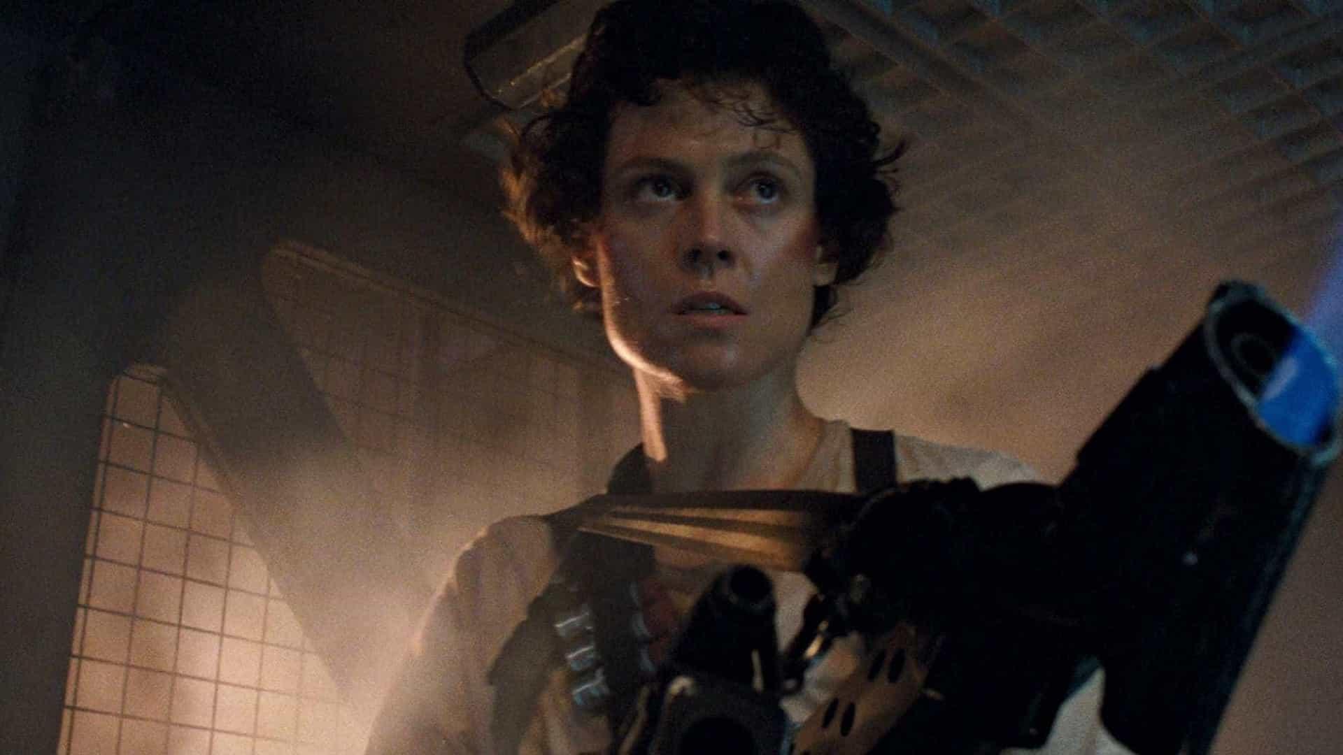 Sigourney Weaver em Alien