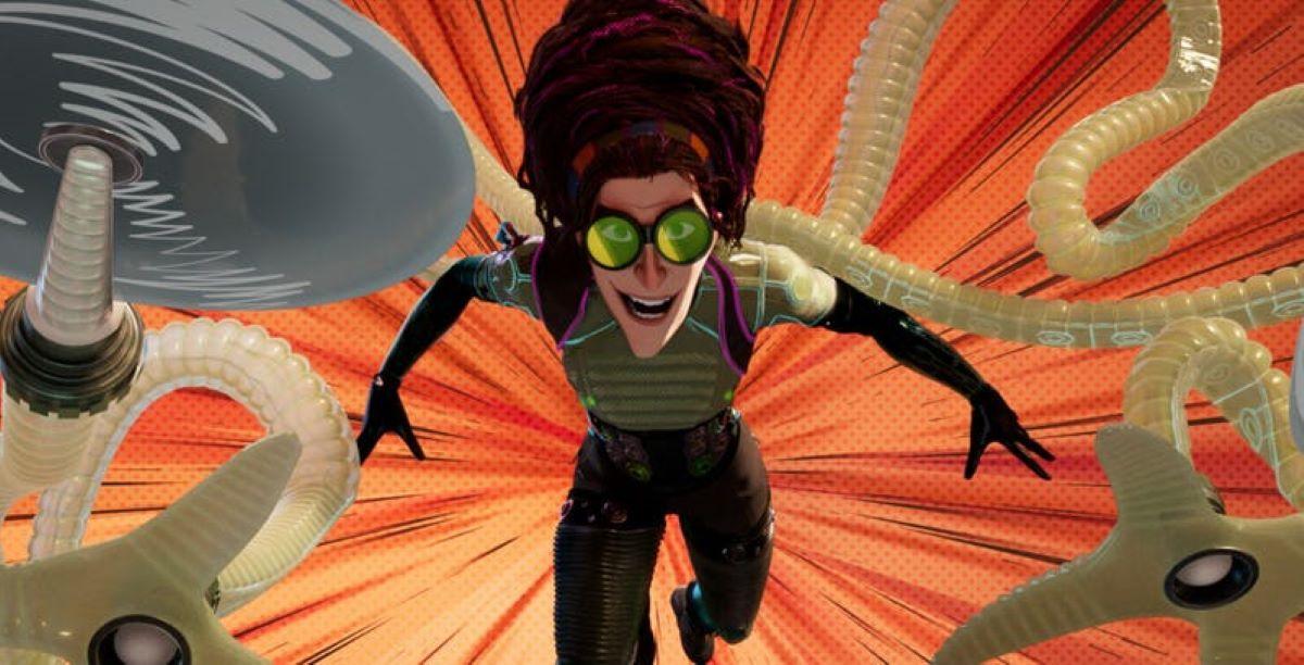 Doutora Octopus em Homem-Aranha: No Aranhaverso (Reprodução / Sony)