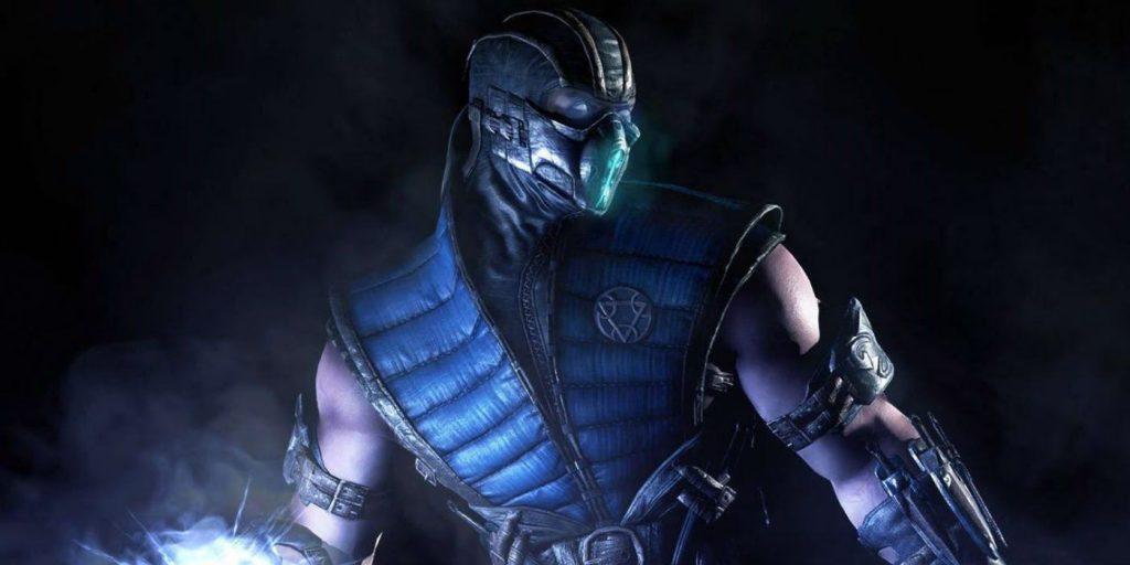 Sub Zero em jogo Mortal Kombat