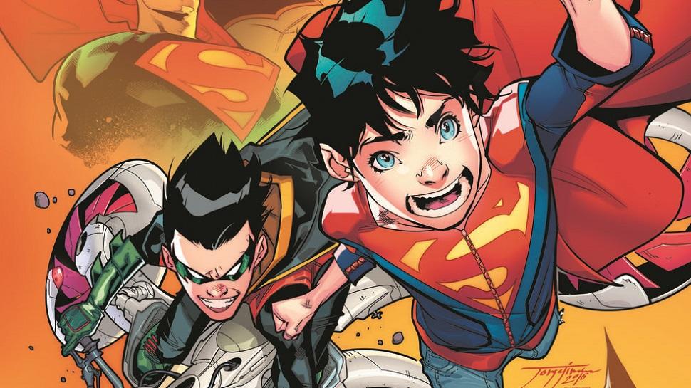 Superboy e Robin, filhos de Superman e Batman nos quadrinhos