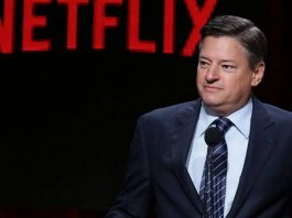 Ted Sarandos, chefe de conteúdo da Netflix
